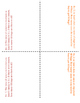 6th Grade Equivalent Ratio Problems Lesson: FOLDABLE & Homework