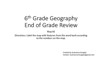 6th Grade Geography Scavenger Hunt Map Two