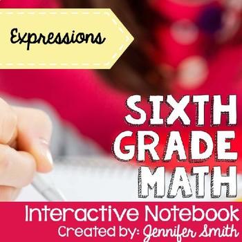 Sixth Grade Interactive Notebook Unit- Expressions