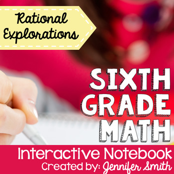 Sixth Grade Interactive Notebook Unit- Rational Expressions