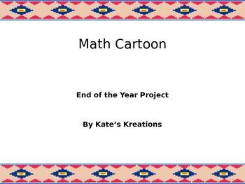 6th Grade Math Cartoon Project