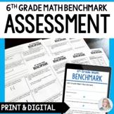 6th Grade Math Benchmark Exam