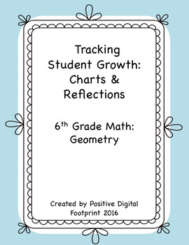 6th Grade Math Data Tracker (Bundle) - Geometry