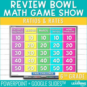 6th Grade Math Game - Ratios & Rates