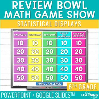 6th Grade Math Game - Statistical Displays