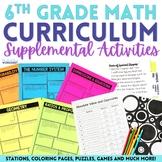 6th Grade Math Curriculum Resources Mega Bundle {Common Core}