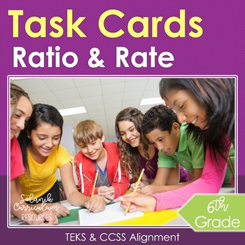 *FREE* 6th Grade Task Cards {Ratios Rates and Proportional