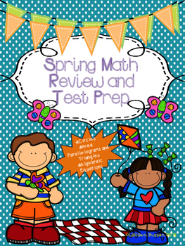Spring Math Review and Test Prep