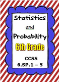 Common Core Math 6th Grade - Statistics and Probability -