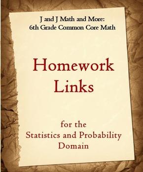 6th Grade Math: 6SP.1-6.SP.5d Internet Links to Statistics
