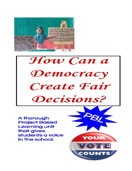 6th Grade PBL - Elections and Democracy in the School