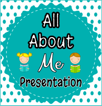 All about me project - Rubric Only