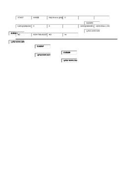 6th Grade Parody Standards Based Assessment Rubric