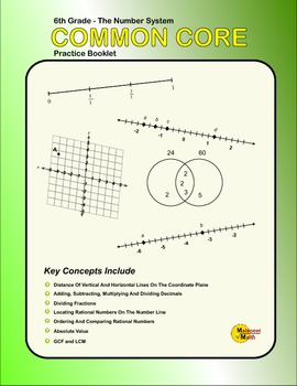 6th Grade Practice Booklet - The Number System