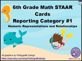 6th Grade Math STAAR Review - Numeric Representations and