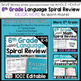 6th Grade Language Homework or 6th Grade Warm Ups & Bell R