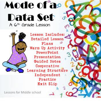 6th Grade Statistics  - Mode of a Data Set