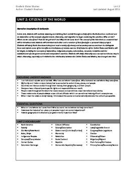 6th Social Studies: Complete Unit 2 Plan & Exam (North Ame