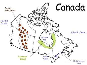 6th grade Canada Notes and Handouts