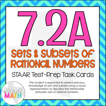 7.2A: Sets & Subsets of Rational Numbers STAAR Test-Prep T