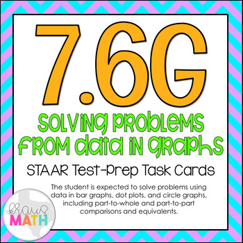 7.6G: Solve Problems from Data in Graphs STAAR Test-Prep T