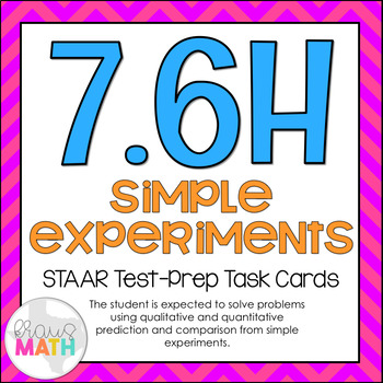 7.6H: Predictions with Probability STAAR Test-Prep Task Ca