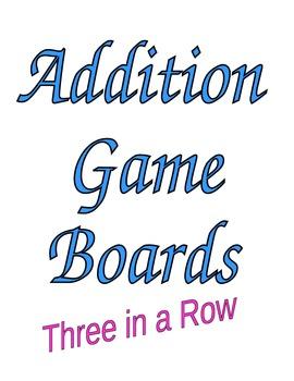 7 Addition Games