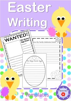 7 Easter Writing Templates