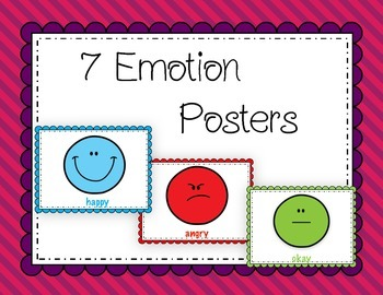 7 Emotion Posters