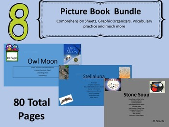 7 Picture Books Units 97 pages