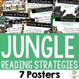Jungle Theme: Reading Strategy Posters