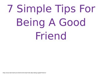 7 Simple Tips For Being A Good Friend