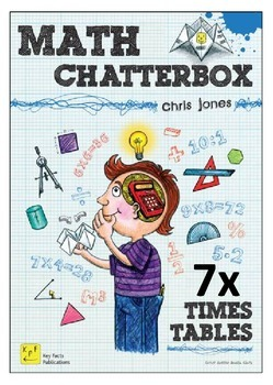 7 Times Tables Chatterboxes