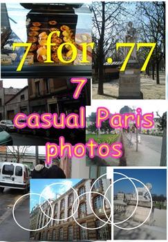 7 for .77 cent photos-Casual Paris