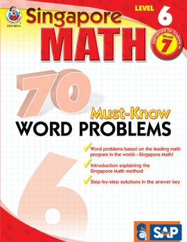 70 Must-Know Word Problems Grade 7 SALE 20% OFF! 0768240166
