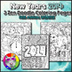 Holiday Coloring Pages, Zen Doodle Bundle!
