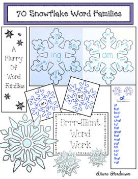 70 Snowflake Word Families