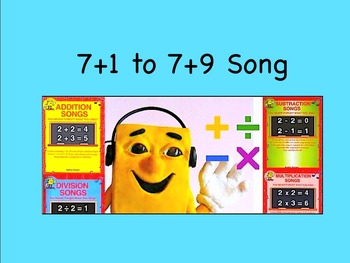 "7+1 to 7+9 m4v Song Video from ""Addition Songs"" by Kathy T"
