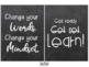 75 Growth Mindset Posters {Chalk Background}
