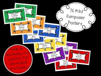 76 Mini Music Composer Posters