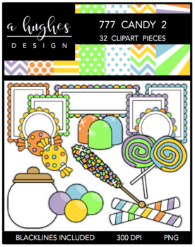777 Candy 2 Bundle {Graphics for Commercial Use}