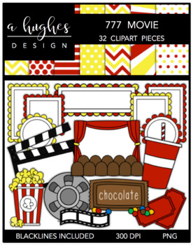 777 Movie Bundle {Graphics for Commercial Use}