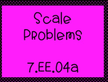 7.EE.4a Scale Problems for Conceptual Understanding of Equations