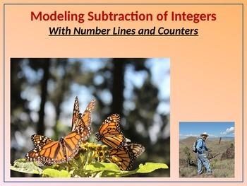 7.NS.1 Modeling Subtraction of Integers (BUNDLE) w/Number