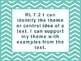 """7th Grade Common Core ELA """"I Can"""" Statements/Learning Targ"""