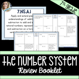 7th Grade Common Core Number System Review Booklet