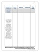 7th Grade Common Core Standards ELA Lesson Plan Charts in