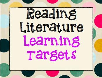 7th Grade ELA Common Core Learning Targets Poster Set *Rea