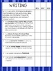 7th Grade ELA Data Notebook (Common Core)