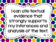 7th Grade ELA I Can Statements for CCSS Standards (Jewel T
